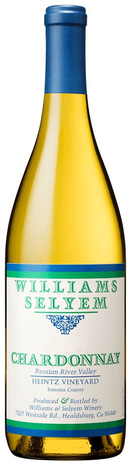 2018 Williams Selyem Chardonnay Heintz Vineyard Russian River Valley