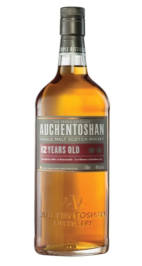 Auchentoshan Lowlands Single Malt Scotch Whisky 12 Years Old 750 ML