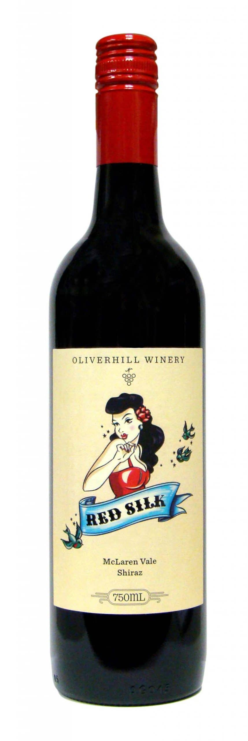 2016 Oliverhill Winery Red Silk Shiraz, McLaren Vale