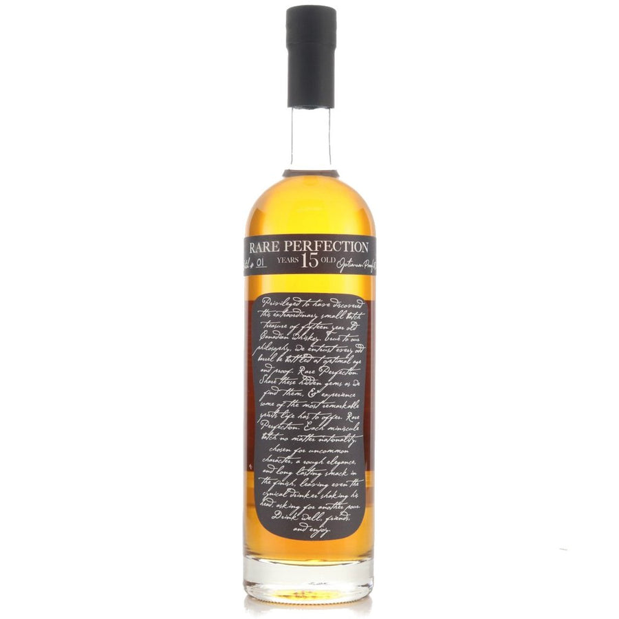 Rare Perfection Canadian Whiskey Fifteen Years Old Cask Strength