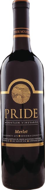 2015 Pride Mountain Vineyards Merlot