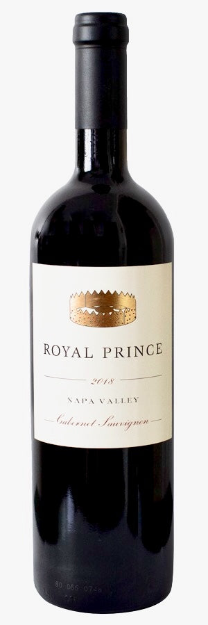 2018 Royal Prince Cabernet Sauvignon, Napa Valley