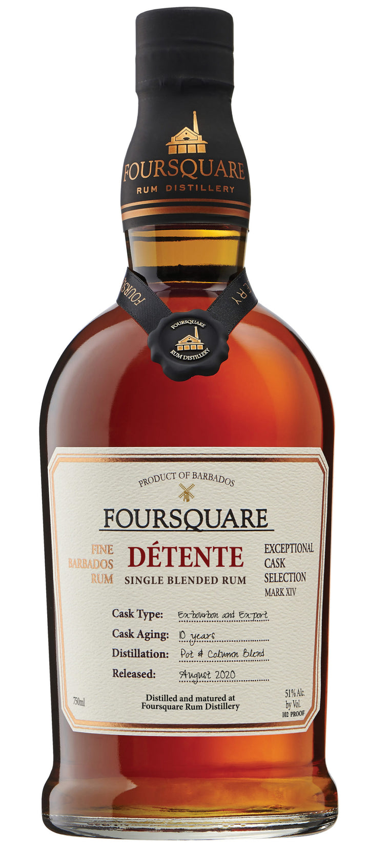 Fourrquare Detente Single Blended Rum