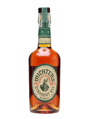 Michter's US-1 Single Barrel, Straight Rye Whiskey 750 ML