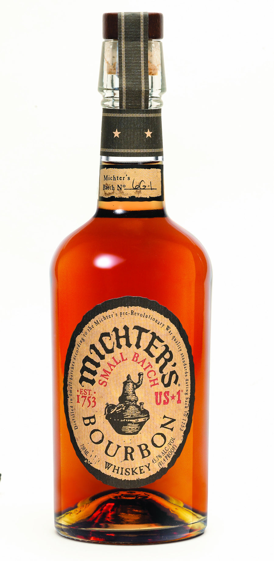 Michters Kentucky Straight Bourbon Whiskey Small Batch US-1 750 ML