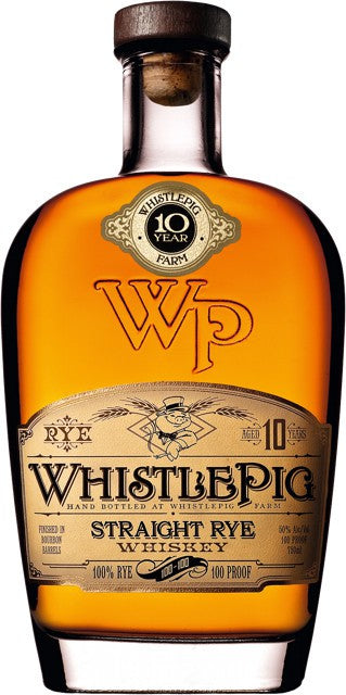 Whistlepig Farm Straight Rye Whiskey 10YR 750 ML