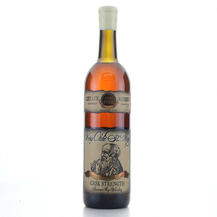 Very Olde St. Nick Summer Rye Whiskey Estate Reserve Cask Strength