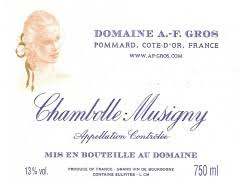 2017 Domaine AF Gros Chambolle Musigny 1.5L