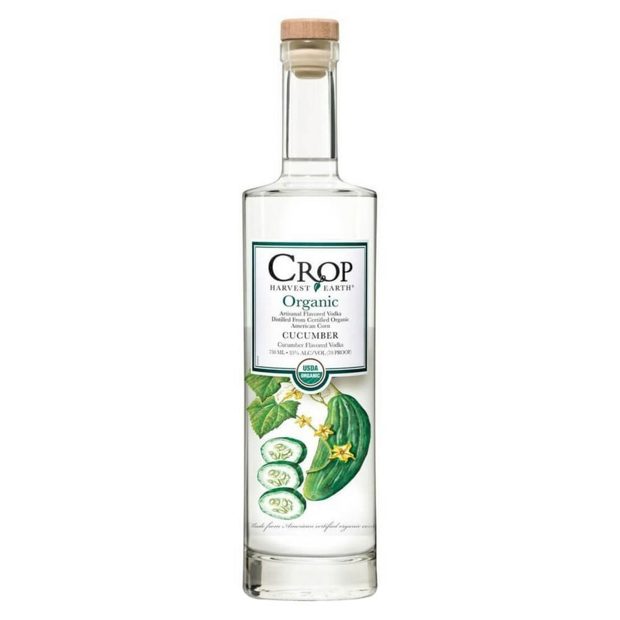 Crop Harvest Earth Organic Cucumber Vodka, 35% ABV
