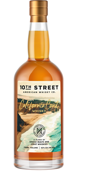 10th Street Distillery Blended American Whisky California Coast 750ML