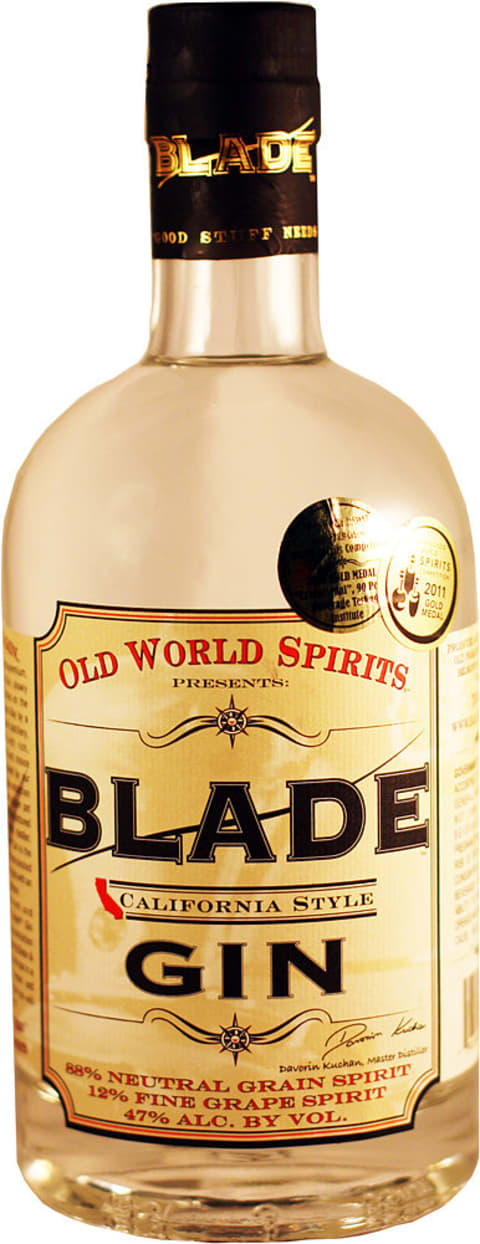 Old World Spirits Blade Gin, 94 Proof