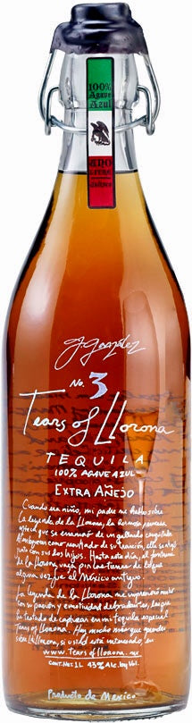 Tears of Llorona Extra Anejo Tequila No.3