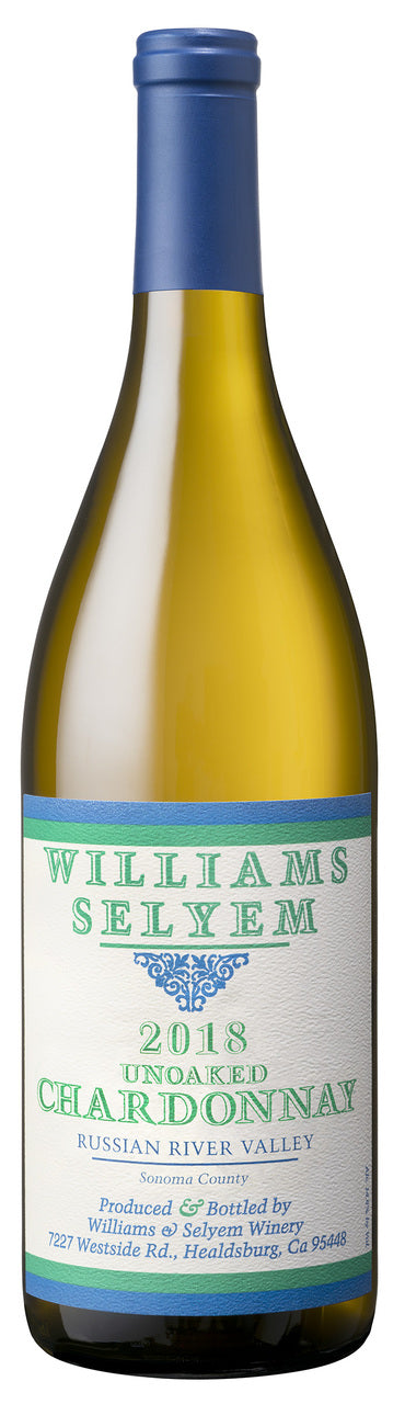 2018 Williams Selyem Unoaked Chardonnay, Russian River Valley
