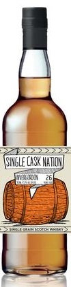 Single Cask Nation Invergordon Single Grain Scotch Whisky 26 Years Old, 750ml