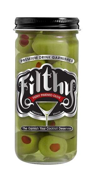Filthy Pimento Olive 8 oz.
