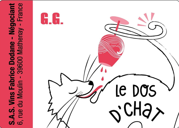 2019 Le dos d'Chat Fabrice Dodane 'GG' Gamay, Beaujolais, France