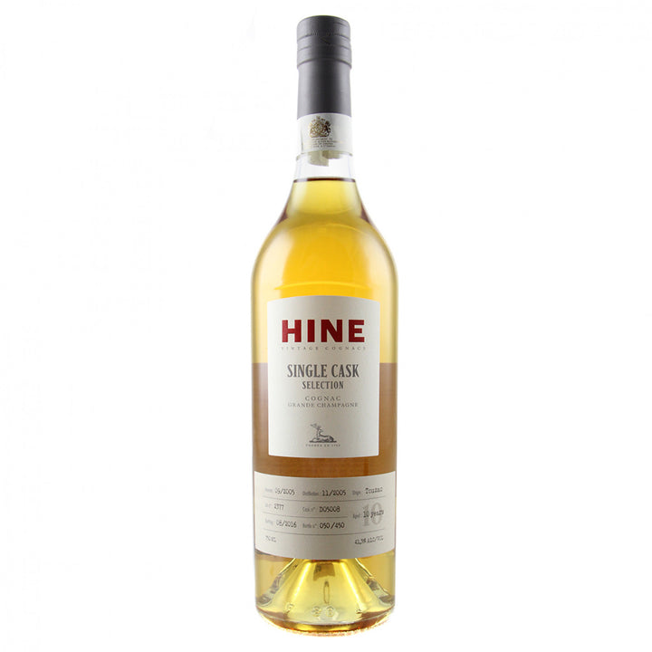 2005 Hine Cognac Grande Champagne Single Cask Selection Touzac 750ML