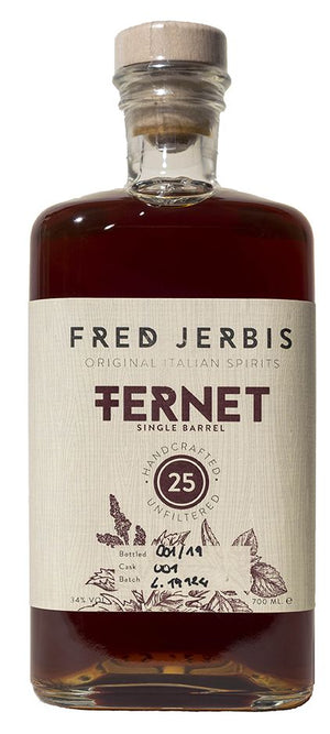 Fred Jerbis Fernet 25 Single Barrel 750ML