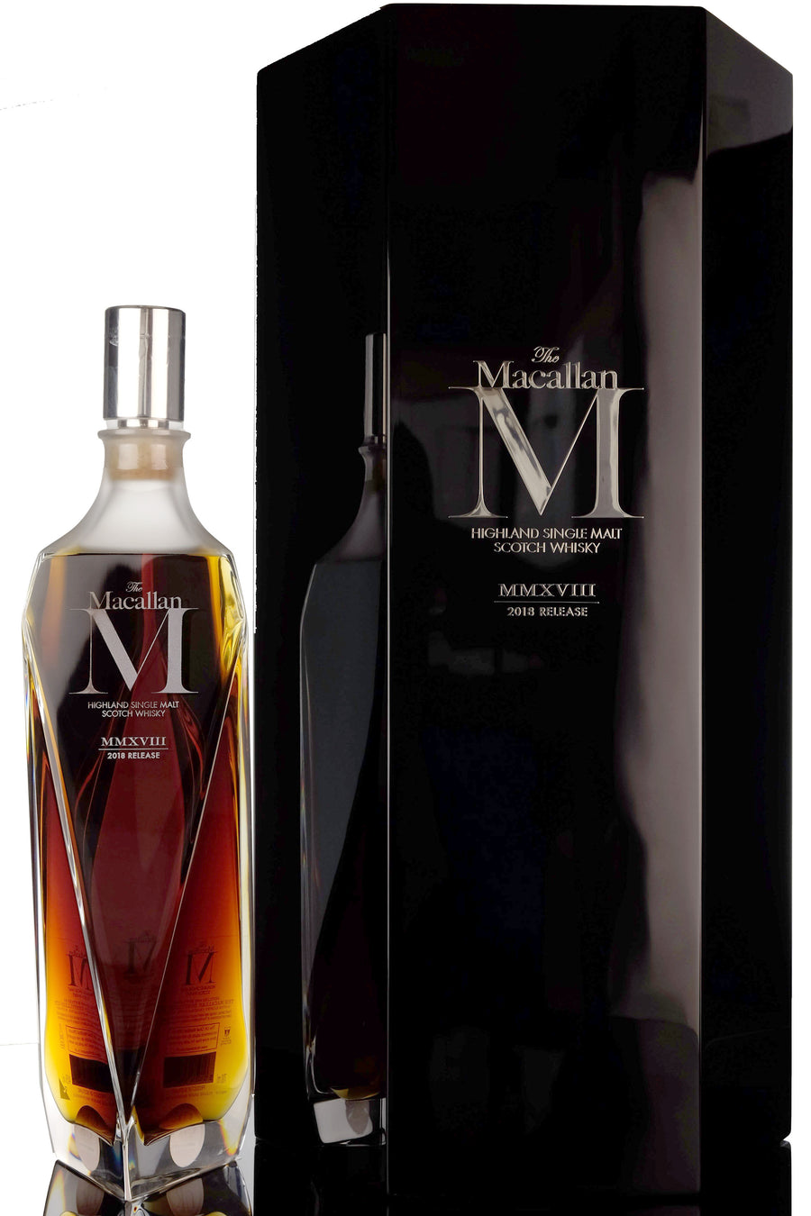 The Macallan Highland Single Malt Scotch Whisky M (2018 Edition) 750ML