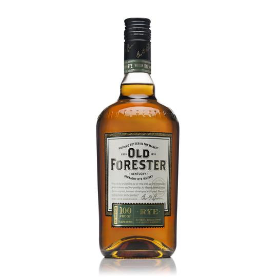 Old Forester Kentucky Straight Rye Whiskey, 100 Proof 750ML