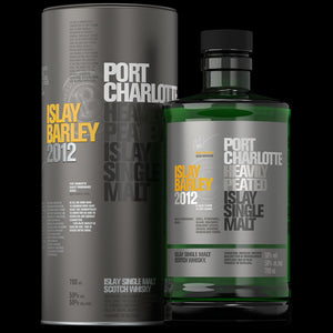2012 Bruichladdich Islay Single Malt Scotch Whisky Barley Aged Six Years 750 ML