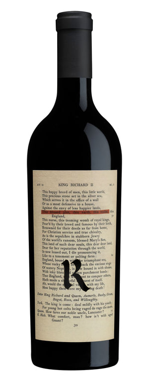 2018 Realm The Bard Red Wine
