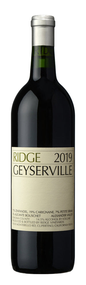 2019 Ridge Vineyards Zinfandel Geyserville