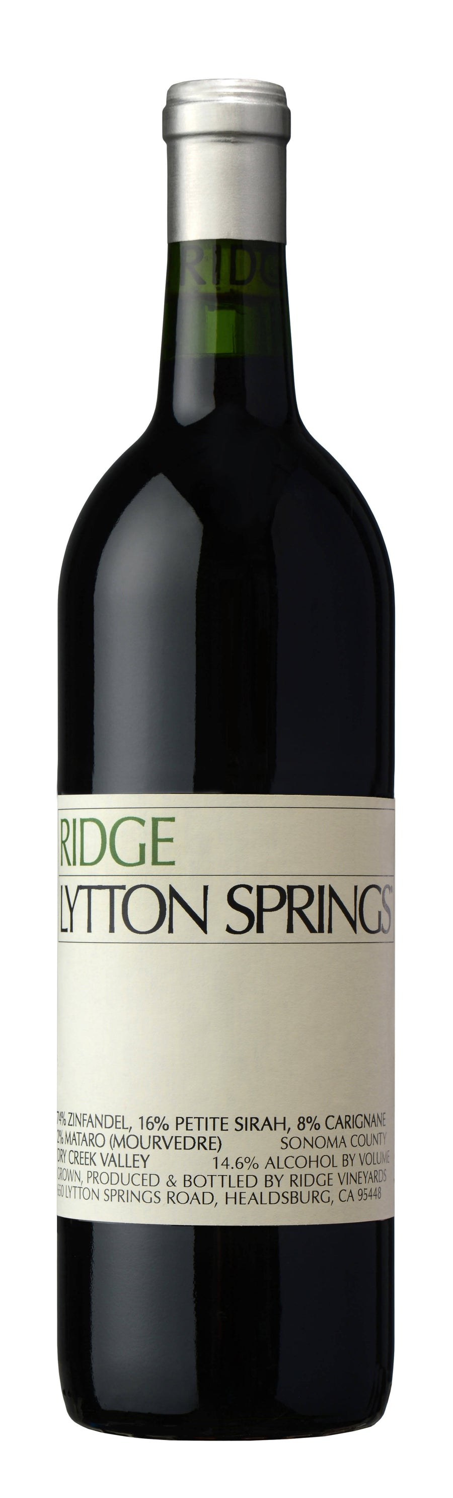 2017 Ridge Vineyards Proprietary Red Wine Lytton Springs 375ML