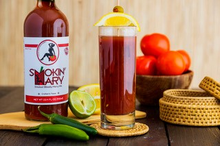 Smokin' Mary Smoked Bloody Mary Mix