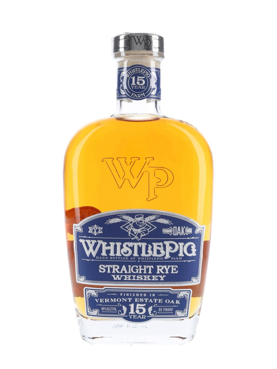 Whistlepig Farm Straight Rye Whiskey 15YR 750 ML