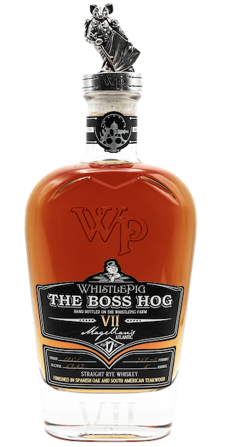 Whistlepig Farm Straight Rye Whiskey The Boss Hog Magellan's Atlantic Seventh Edition 750 ML