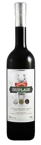 Duplais, Swiss Absinthe Verte, 136 Proof, 750 ML
