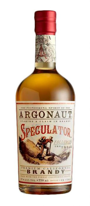 "Argonaut ""Speculator"" California Brandy. 86 Proof, 750 ML"