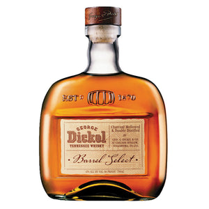 George Dickel Barrel Select Tennessee Whisky 43% ABV (750ML)