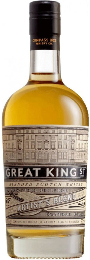 Great King Street Artist's Blend, Blended Scotch Whisky 750 ML