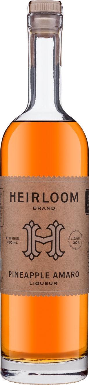 Heirloom Liqueurs Pineapple Amaro 750ML