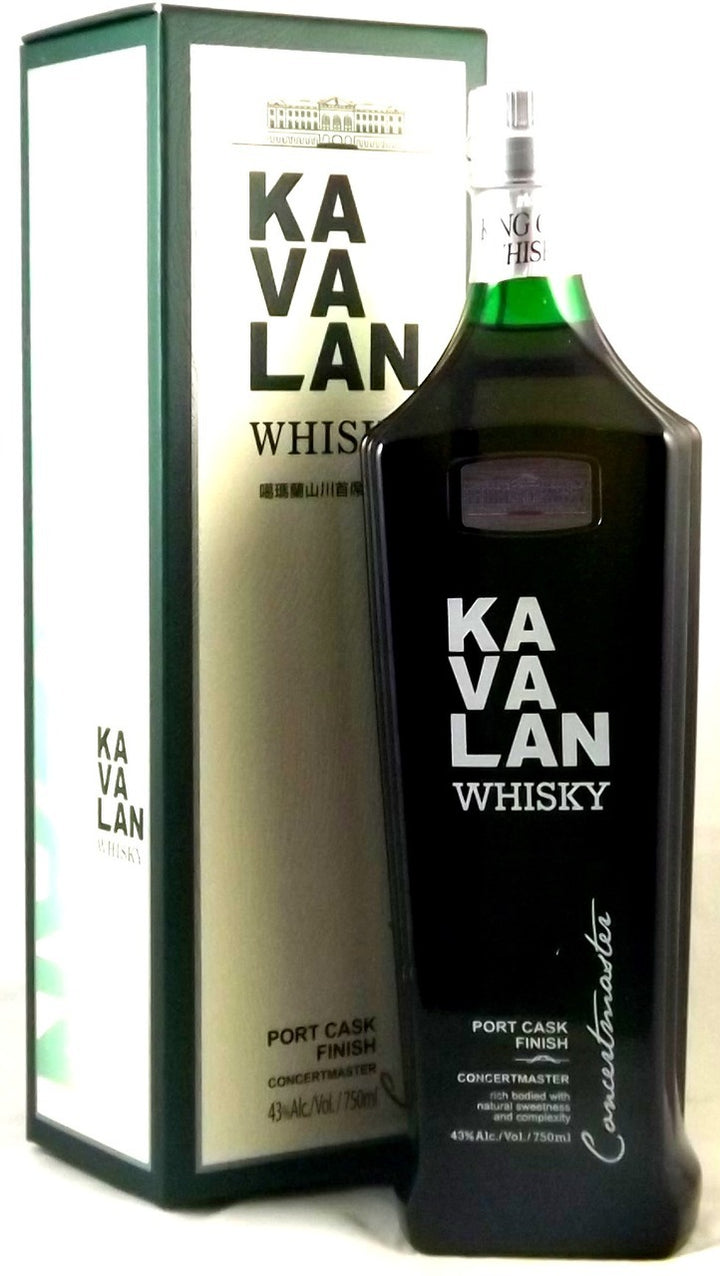 Kavalan Concertmaster Port Cask Finish Whisky Taiwan