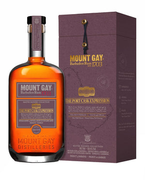 Mount Gay Master Blender Collection 3 Port Cask Expression Rum 750 ML