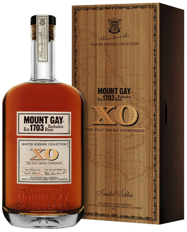 Mount Gay XO Master Blender Collection The Peat Smoke Expression Rum 750 ML