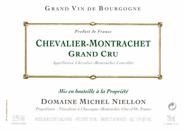 2018 Domaine Michel Niellon Chevalier Montrachet Grand Cru