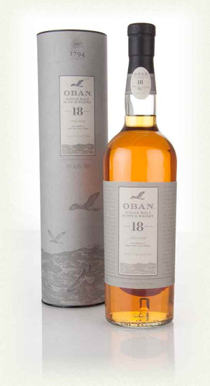 Oban West Highland Single Malt Scotch Whisky Aged 18 Years 750ML