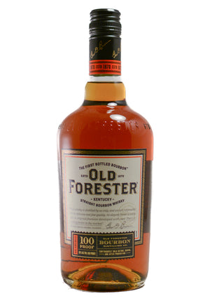 Old Forester Kentucky Straight Bourbon Whiskey 100 Proof 750ML