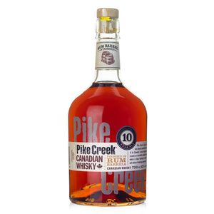 Pike Creek Canadian Whisky,10 Years Old, 80 Proof 750 ML