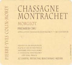 2017 Domaine Pierre-Yves Colin-Morey Chassagne Montrachet Morgeot