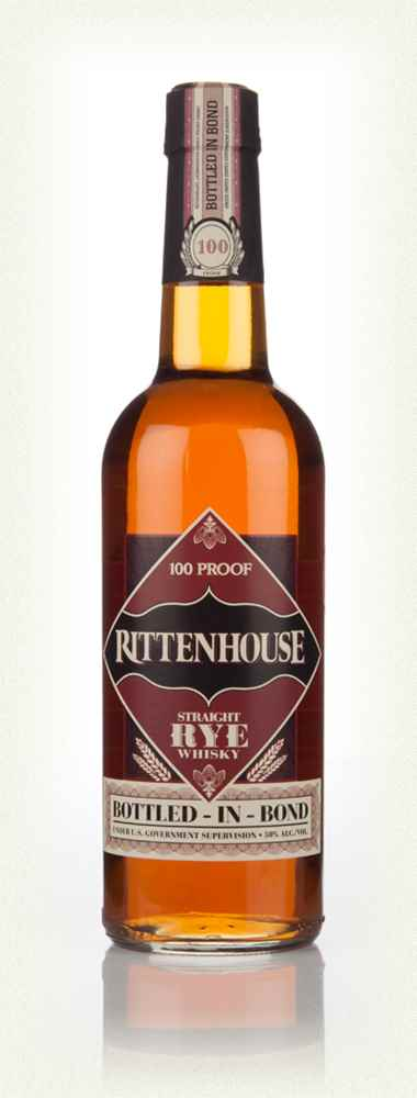 Rittenhouse Straight Rye Whisky Bottled in Bond 750 ML