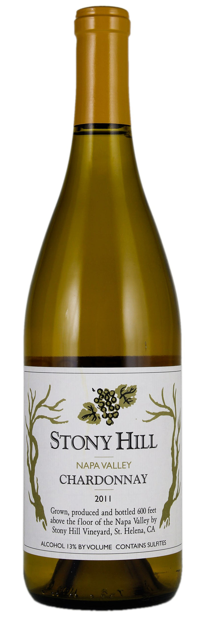 2011 Stony Hill Vineyard Chardonnay, Napa Valley