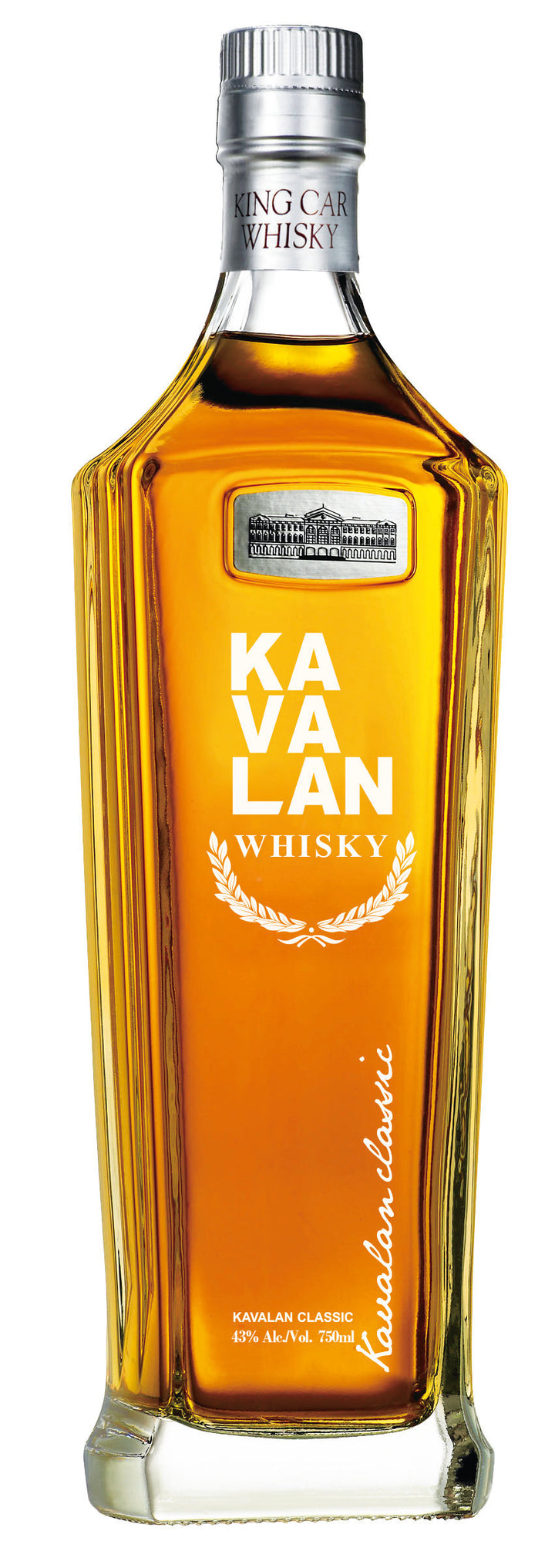 Kavalan Single Malt Whisky (Classic), Taiwan, 43%ABV (86 Proof)