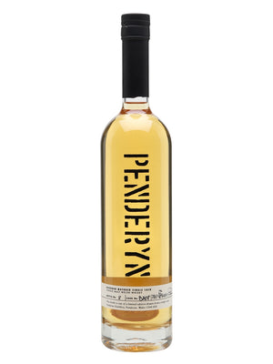 Penderyn Single Malt Welsh Whisky Bourbon Matured Single Cask 15 Years Old 750 ML