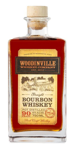 Woodinville Straight Bourbon Whiskey 750 ML