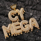 Custom Crowned Letter Pendant - Hip Hop Jewelry | PrimoBling